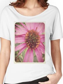 Flowers in the Field  Women's Relaxed Fit T-Shirt