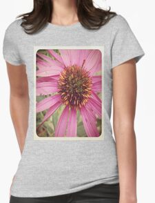 Flowers in the Field  Womens Fitted T-Shirt