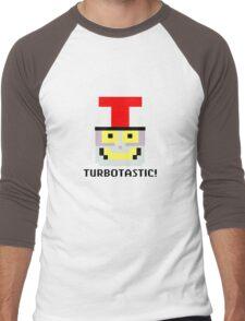 Turbotastic! Men's Baseball ¾ T-Shirt