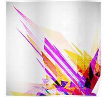crystal geometric Poster