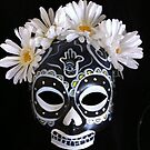 Day of the Dead Sugar Skull Catrina Mask by Suzi Linden by Suzi Linden