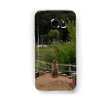 Meerkat Emperor  Samsung Galaxy Case/Skin