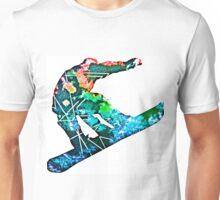 Retro snowboarder Unisex T-Shirt