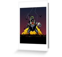 Giant Robot Nazi Gorilla iPad Greeting Card