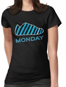 Blue Monday  Womens Fitted T-Shirt