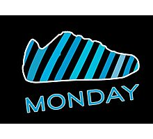 Blue Monday  Photographic Print