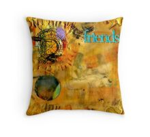 Just a Little Chat about Dreams and Things Throw Pillow