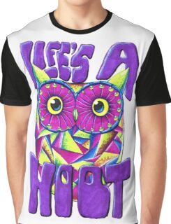 Life's a Hoot Graphic T-Shirt