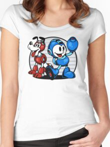 Mega Pals Women's Fitted Scoop T-Shirt