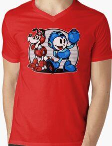 Mega Pals Mens V-Neck T-Shirt