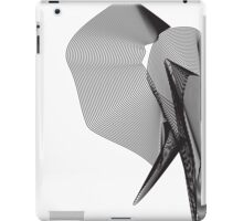 The Elephant (Black) iPad Case/Skin