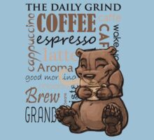Coffee Bear One Piece - Short Sleeve