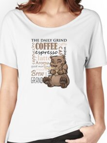 Coffee Bear Women's Relaxed Fit T-Shirt