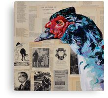 'Clever Duck!' Canvas Print