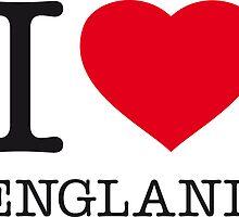 I ♥ ENGLAND by eyesblau