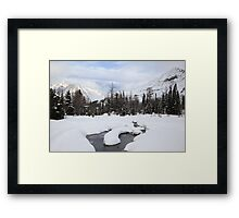 Winter land II Framed Print
