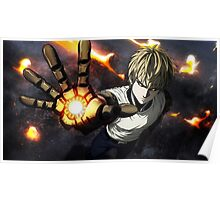 One Punch Man: Genos Wallpaper Poster