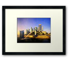 Merlion Sunrise - Iconic Singapore Framed Print