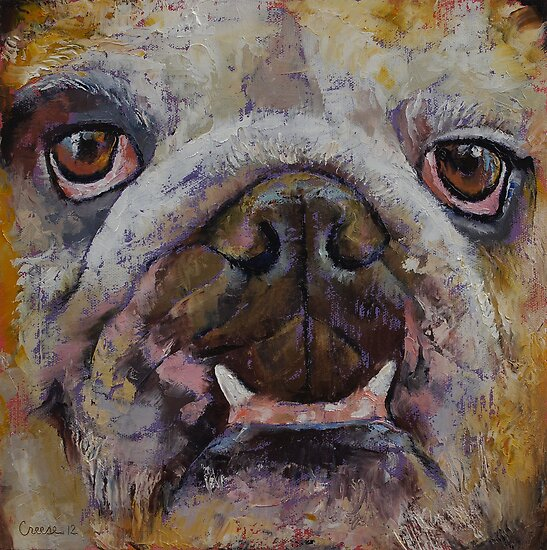 Bulldog by Michael Creese