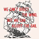 We can't direct the wind, but we can adjust the sail by AAA-Ace