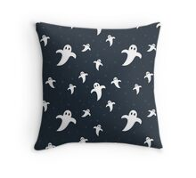 Cute Ghosts pattern Throw Pillow