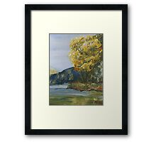 September Tree Framed Print
