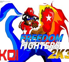 Freedom Fighters 2K3 Koi Anime Picture by TakeshiMedia