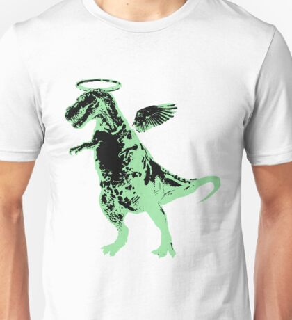 Angel Rex (inverted black and mint) Unisex T-Shirt