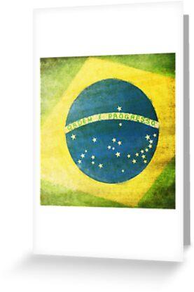 Brazil flag by naphotos