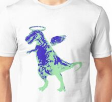 Angel Rex (inverted blue and mint) Unisex T-Shirt