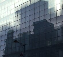 Reflection, Urbis, Manchester, England by exvista