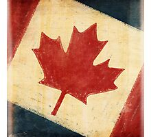 Canada flag Photographic Print