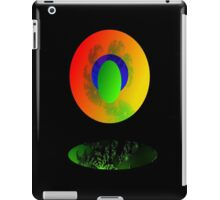 Falling through SPACE iPad Case/Skin