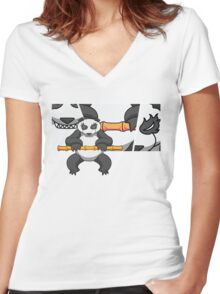 Bamboo 2 Women's Fitted V-Neck T-Shirt