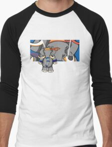 Dung Fu 2 Men's Baseball ¾ T-Shirt