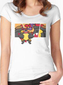 hong kong 2 Women's Fitted Scoop T-Shirt