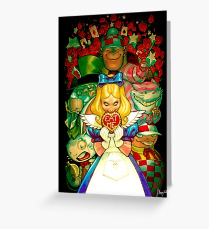 Hello Alice Greeting Card