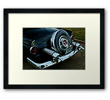 Awesome Tail Framed Print