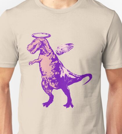 Angel Rex (purple and pink) Unisex T-Shirt