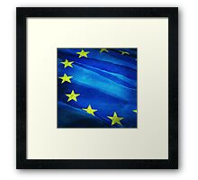 European flag Framed Print