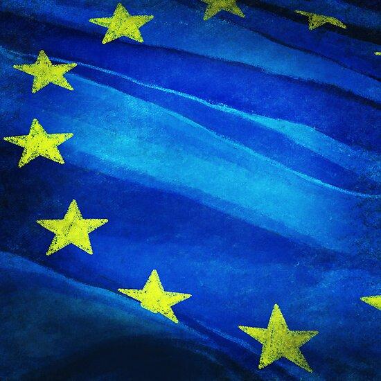 European flag by naphotos
