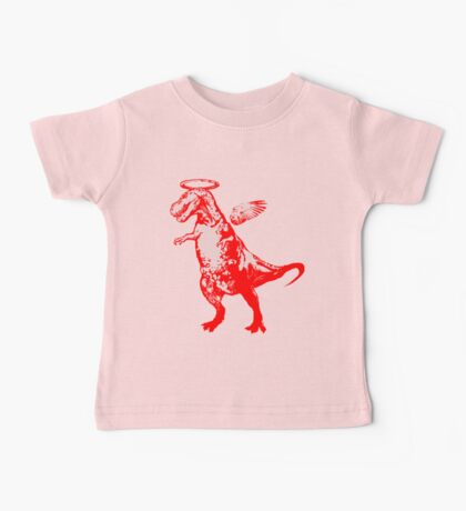 Angel Rex (red and pink) Baby Tee
