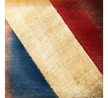 French flag Photographic Print