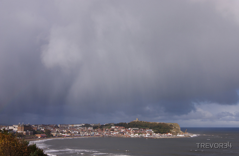 Storm over Scarborough 4 by TREVOR34