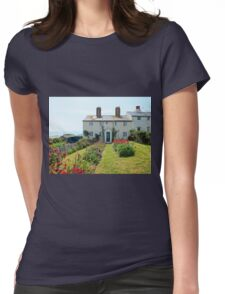 Cuckmere Cottages, East Sussex Womens Fitted T-Shirt