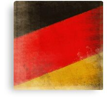 German flag Canvas Print