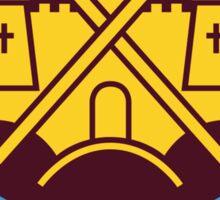 west ham united logo Sticker