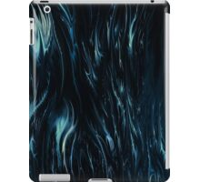 abstract blue ipad case by rafi talby iPad Case/Skin