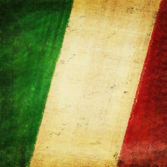 Italy flag by naphotos