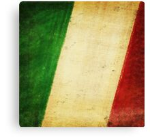 Italy flag Canvas Print